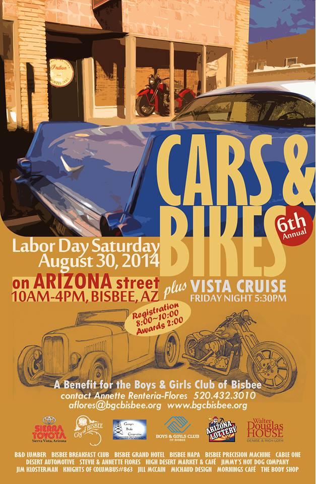 Bisbee Current Events - Bisbee car show